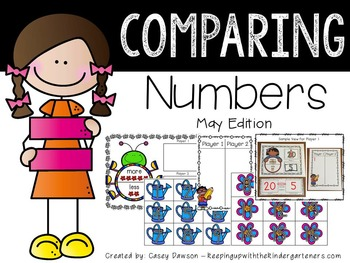 Comparing Numbers May Edition (Common Core and Texas TEKS