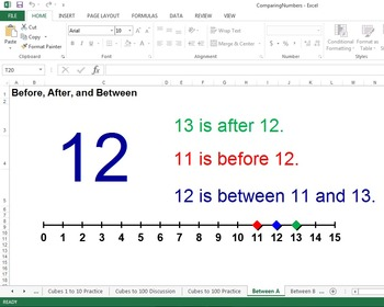 Comparing Numbers (Microsoft Excel)
