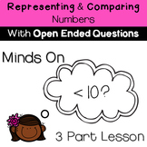 Representing and Comparing Numbers- Minds On- Open Ended Q