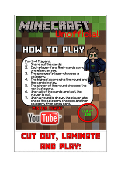 Comparing Numbers (Minecraft Maths)