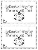 Comparing Numbers Mini Book