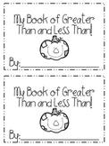 Comparing Numbers Mini Book