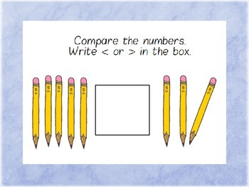 Comparing Numbers (Mr. Gator 1)