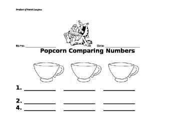 Comparing Numbers, Ordering Numbers, Envision Math 2-4, Least to Greatest