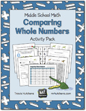 Comparing Whole Numbers Activity Pack