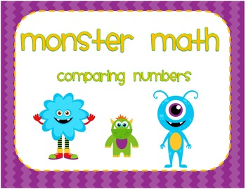 Comparing Numbers Packet