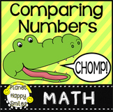 Comparing Numbers, Place Value:  Alligator CHOMP!