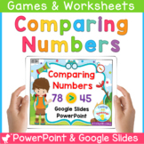 Comparing Numbers Powerpoint and SmartBoard