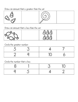 Comparing Numbers Practice