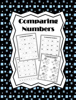 Comparing Numbers Printables (CCSS Aligned)