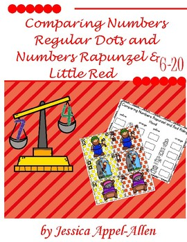Comparing Numbers Rapunzel and Little Red 6-20