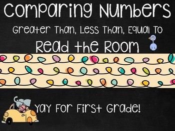 Comparing Numbers Read the Room