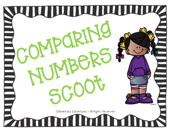 SOL 3.1 Comparing Numbers Scoot