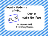 Comparing Numbers Scoot and Write the Room