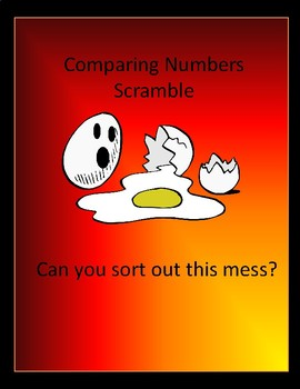 Comparing Numbers Scramble