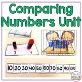 Comparing Numbers Math Unit for Special Education (Leveled Math Centers)