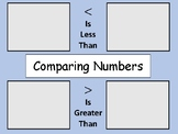 TEKS 2.2D - Comparing Numbers Center Activity