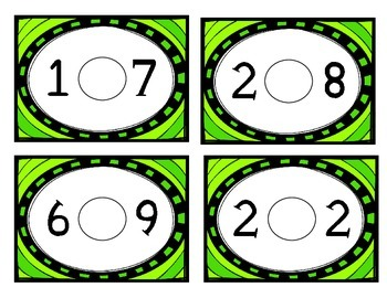Comparing Numbers Task Cards