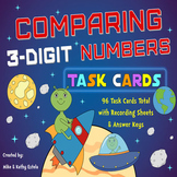 Comparing Numbers Task Cards {Compare 3-Digit Numbers}