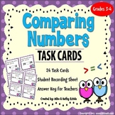 Comparing Numbers Task Cards - FREE