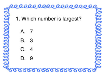 Comparing Numbers Task Cards - Ones, Tens, Hundreds