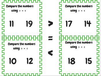 Comparing Numbers: Teens