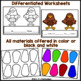 Thanksgiving Math: Comparing Numbers Turkey Craft