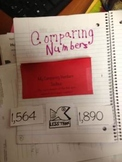 Comparing Numbers Toolbox Interactive Notebook
