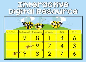 Comparing Numbers (Up to 100,000) Third Grade - Digital Resource