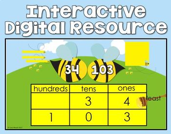 Comparing Numbers (Up to 120) First Grade - Digital Resource
