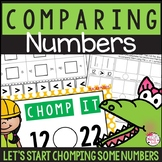 Comparing 2 Digit Numbers PowerPoint & Activities