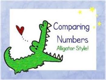 Comparing Numbers Using Symbols
