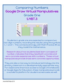 Comparing Numbers - Virtual Manipulatives for Google Chrome- 1.NBT.3