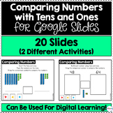 Comparing Numbers With Tens and Ones for Google Slides | D