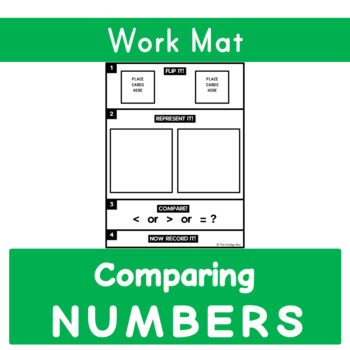 Comparing Numbers - Work Mat