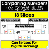 Comparing Numbers for Google Slides | Distance Learning