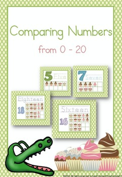 Comparing Numbers from 0 - 20
