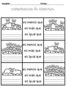 Comparing Numbers in Spanish