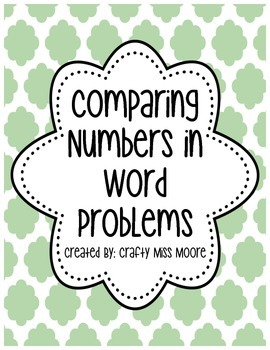 Comparing Numbers in Story Problems