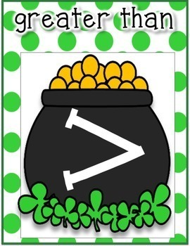 St. Patrick's Day Greater Than Less Than