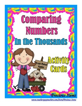 Comparing Numbers in the Thousands - Activity Cards