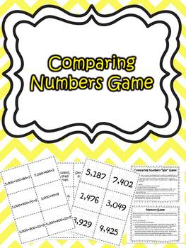 Comparing Numbers-standard, word, and expanded form