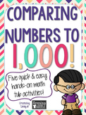 Comparing Numbers to 1,000