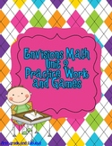 Comparing Numbers to 10 (An Envision Math Supplement)