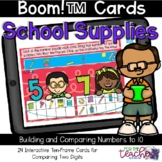 Comparing Numbers to 10 {Boom Cards™}