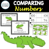 Comparing Numbers to 120: Greater Than, Less Than, and Equal Alligators