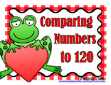 Comparing Numbers to 120 - Frogs - Activity Cards