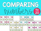 Comparing Numbers to 20 Math Center