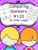 Comparing Numbers to 20 Math Packet by Kinder League
