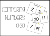 Comparing Numbers to 20 Task Box Activity